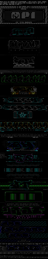 Ascii Column by Despair