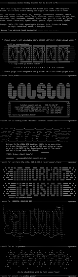Ascii Column #1 by Spoonman