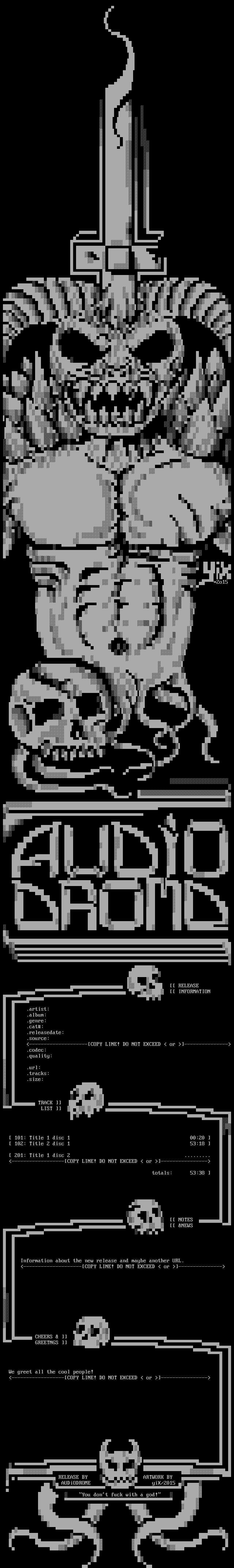 AUDiODROME by yiX